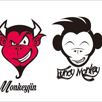 MONKEY  by Lovehead