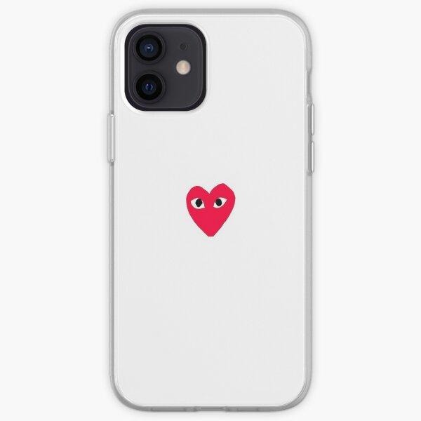 corazón <3 Funda blanda para iPhone