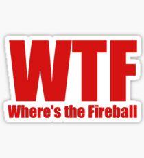 Where's the Fireball Sticker