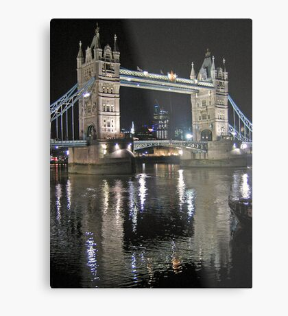 Tower Bridge reflections Metal Print