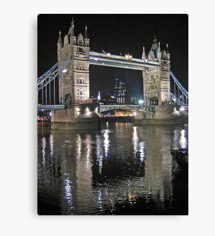 Tower Bridge reflections Canvas Print