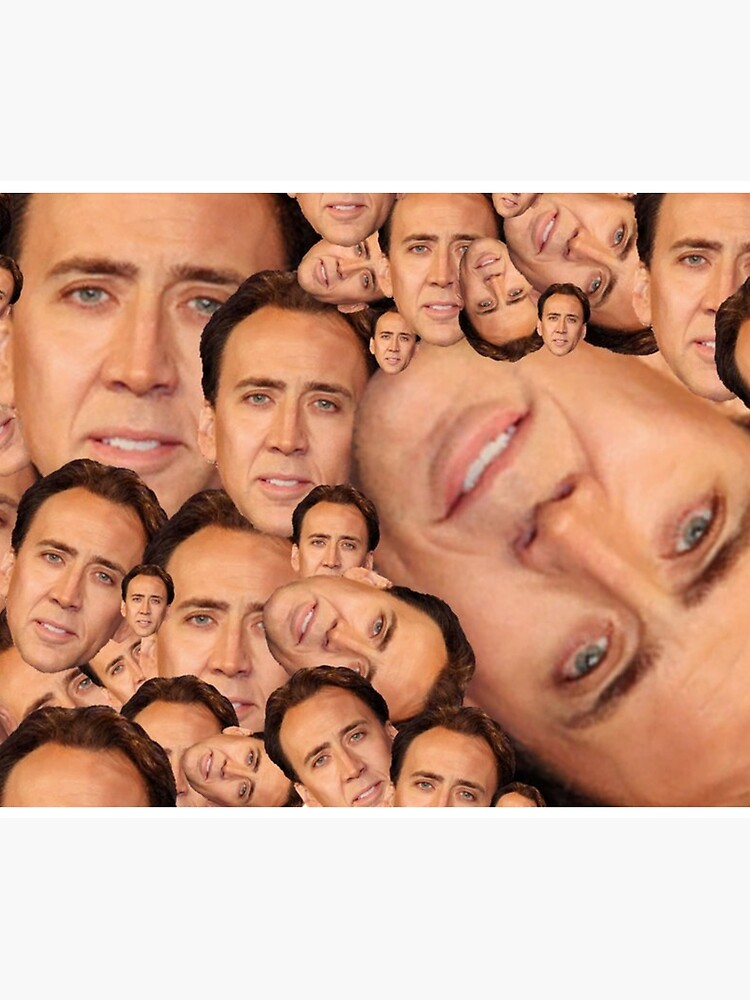 Nicolas Cage Collage  by prodesigner2