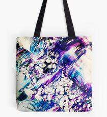 Purple Bubbles Tote Bag