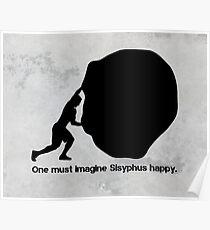 Sisyphus - Albert Camus Poster