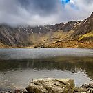 Lake Idwal Winter by Adrian Evans