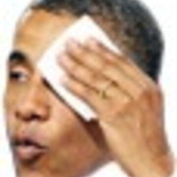 KTT whew Barack Obama Whew Sticker by AClanOfNoStans