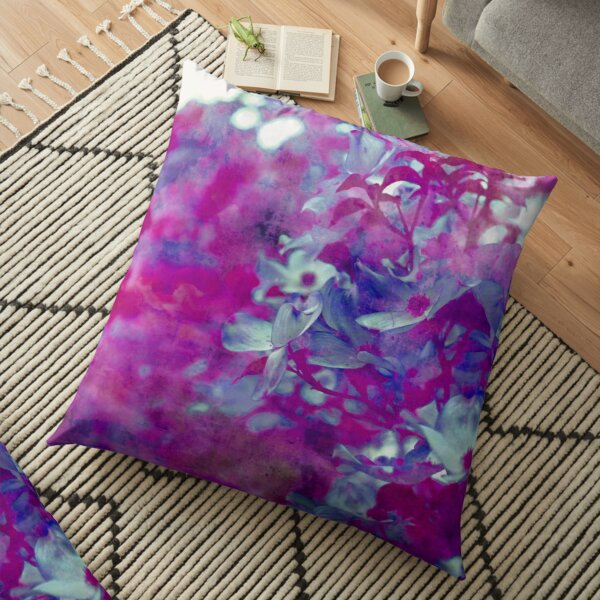 Violet Vision Floor Pillow