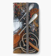 Kitchen Spices  iPhone Wallet/Case/Skin