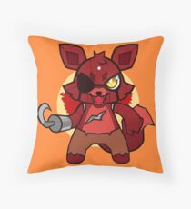 Chibi Foxy Throw Pillow