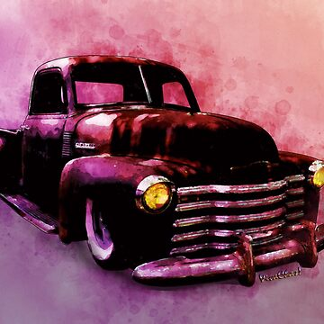 Chevy Rat Rod Pickup Pop Stand by ChasSinklier