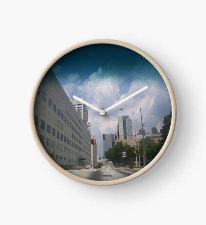 Lonely Avenue Clock