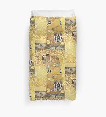The Embrace by Gustav Klimt Duvet Cover
