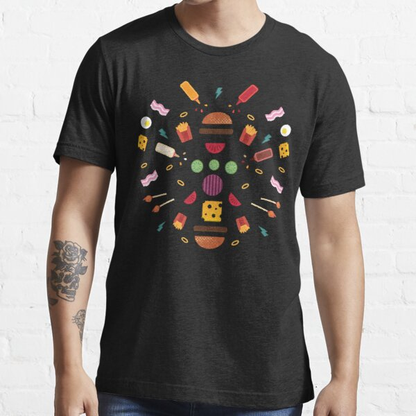 Burger Explosion  Essential T-Shirt
