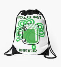 Hold My Beer Drawstring Bag
