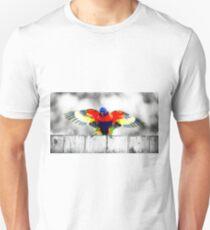 Gold Coast Rainbow Lorikeet Unisex T-Shirt
