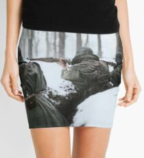 Soldiers aiming in trenches, Sierra de Guadarrama, 1936.  Mini Skirt