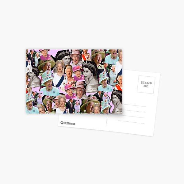 HRH  Queen Elizabeth II Postcard