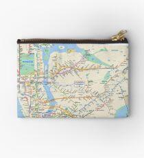 New York City Subway Map Studio Pouch