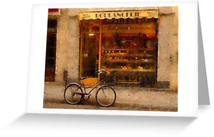 Boulangerie & Bike by Mick Burkey