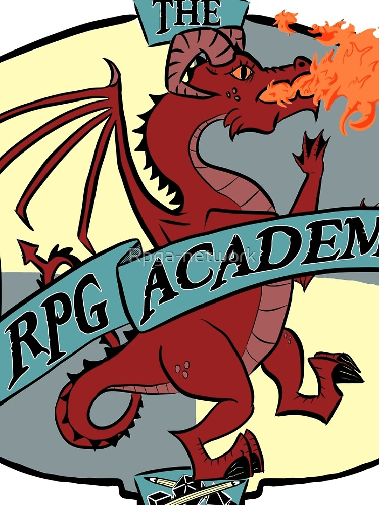 The RPG Academy Podcast logo by Rpga-network