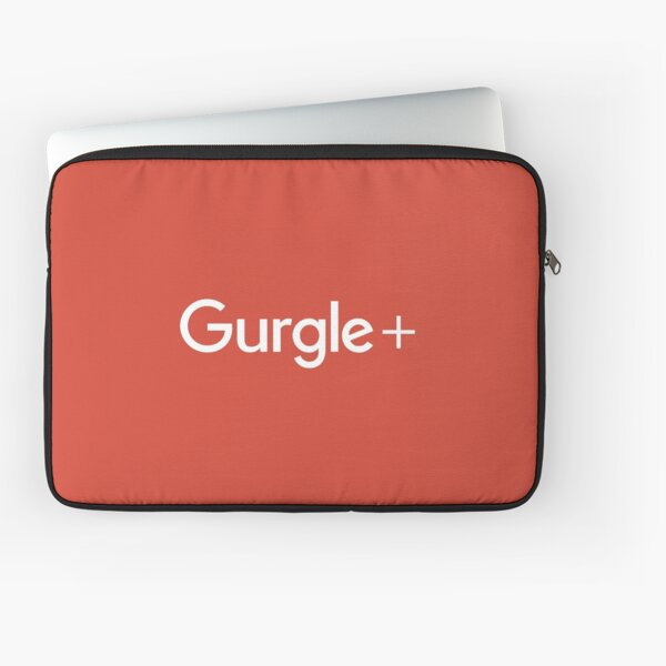 Clear Out That Bad Taste With Gurgle+  Laptop Sleeve