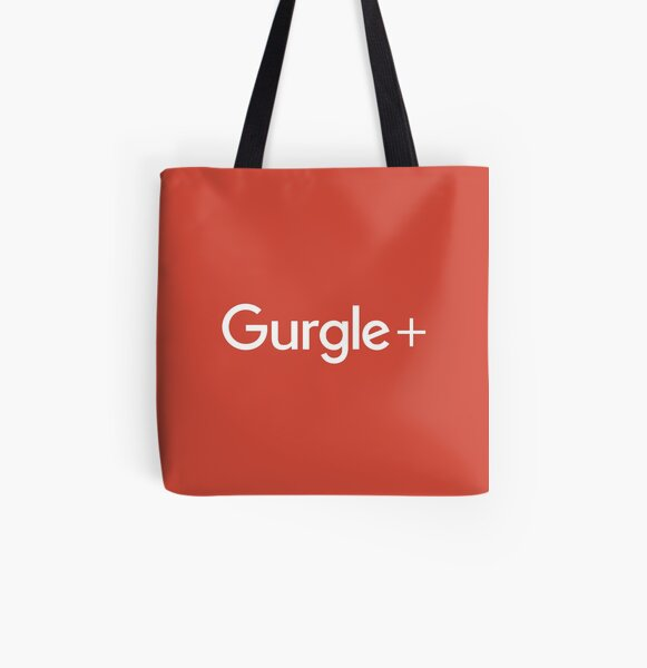 Clear Out That Bad Taste With Gurgle+  All Over Print Tote Bag