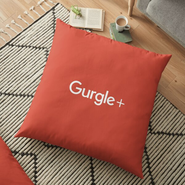 Clear Out That Bad Taste With Gurgle+  Floor Pillow