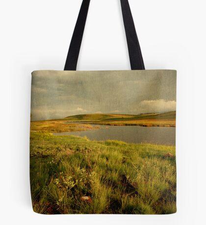 Drakensberg dam Tote Bag