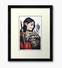 Little Thief Framed Print