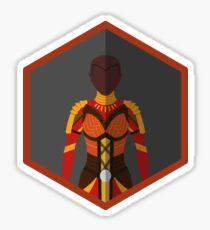 Okoye Character Icon Fanart Sticker