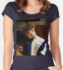 LIL SKIES Women's Fitted Scoop T-Shirt
