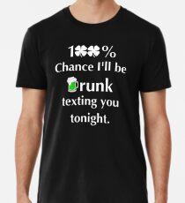 Lustige St. Patrick's Day Sammlung Premium T-Shirt