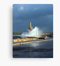 White Water 3 Canvas Print