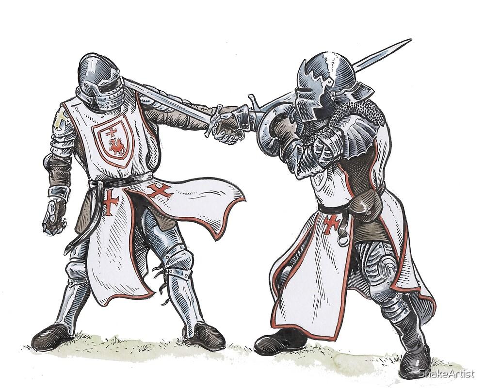 Knights Templar Training by SnakeArtist
