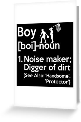 Boy noun definition meaning greeting cards by dreambig11 redbubble boy noun definition meaning by dreambig11 m4hsunfo