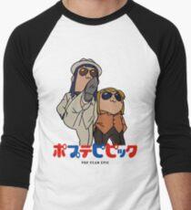 Popuko and Pipimi - Yakuza Men's Baseball ¾ T-Shirt