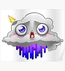 Peeing Cloud Poster