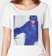 Lil Kim Blue Women's Relaxed Fit T-Shirt