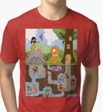 Furkini Atoll Forest Tri-blend T-Shirt