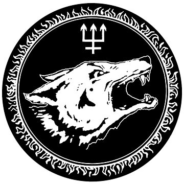 Watain Wolf Circle Logo by reyboot