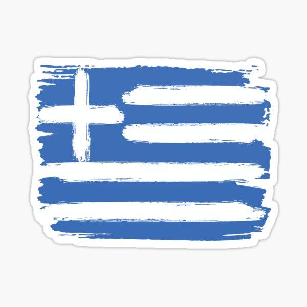 Greek Flag Greece Sticker