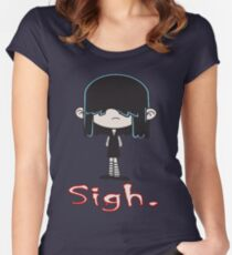 Loud House - Lucy Loud Women's Fitted Scoop T-Shirt