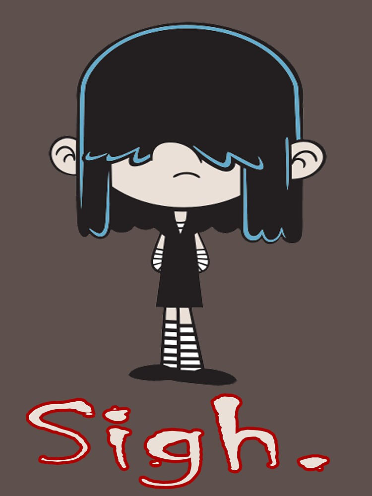 loud house lucy loud unisex t shirt by ickoblikrum92 redbubble