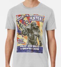 Bruderschaft Propaganda Poster Männer Premium T-Shirts
