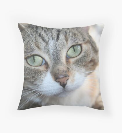I'm An Angel (Ya Right!) Throw Pillow