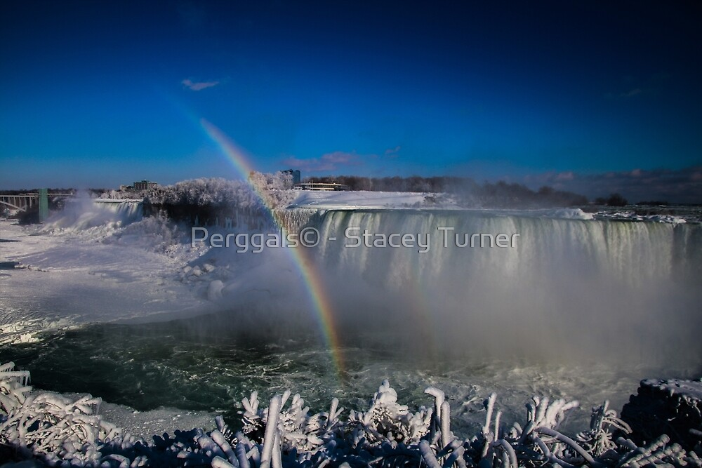 falls misty rainbow by Perggals© - Stacey Turner