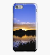 Sunset, Fairways, Craigieburn  iPhone Case/Skin