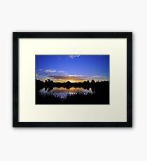 Sunset, Fairways, Craigieburn  Framed Print