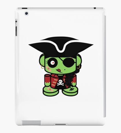 Pirate Zombio'bot 1.0 iPad Case/Skin