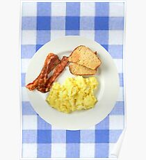 Ron Swanson Breakfast  Poster